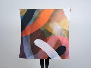 Gluppa tessuto d'artista Moneyless limited edition