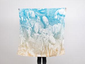 Gluppa tessuto d'artista Tellas limited edition